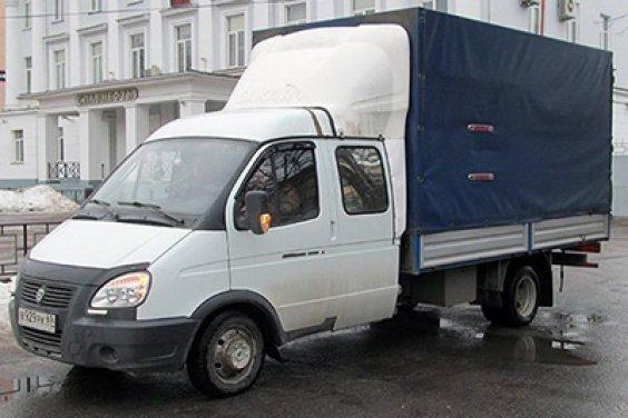 Грузовое такси с грузчиками и без них