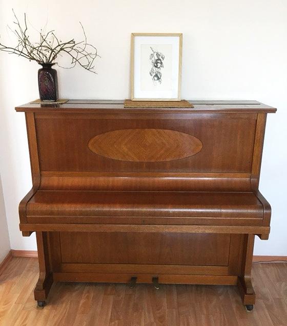 дорогое немецкое пианино