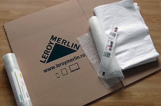 упаковочные материалы, которые помогают при подготовке к переезду