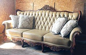 перевозка резного дивана