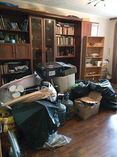 вывоз мебели из квартиры с грузчиками на утилизацию