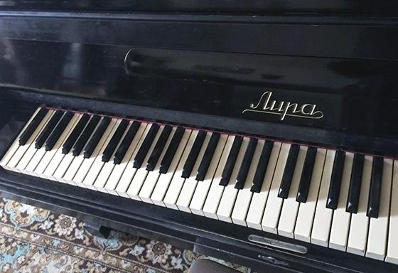 вывоз пианино Лира на утилизацию