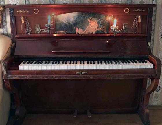 перенести пианино из комнаты в комнату или с этажа на этаж